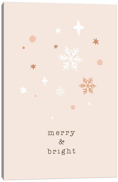 Merry & Bright Canvas Art Print