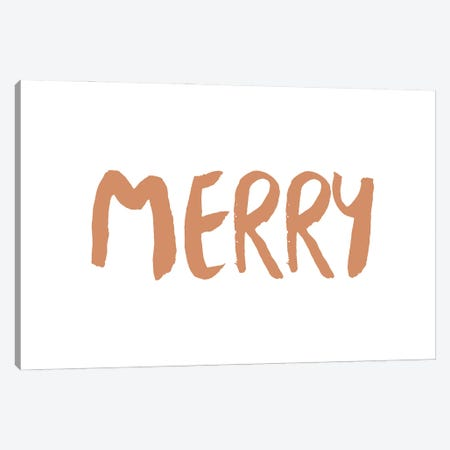 Merry Canvas Print #ORA368} by Orara Studio Canvas Art