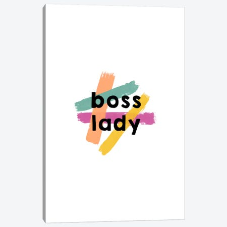 Boss Lady Canvas Print #ORA36} by Orara Studio Art Print