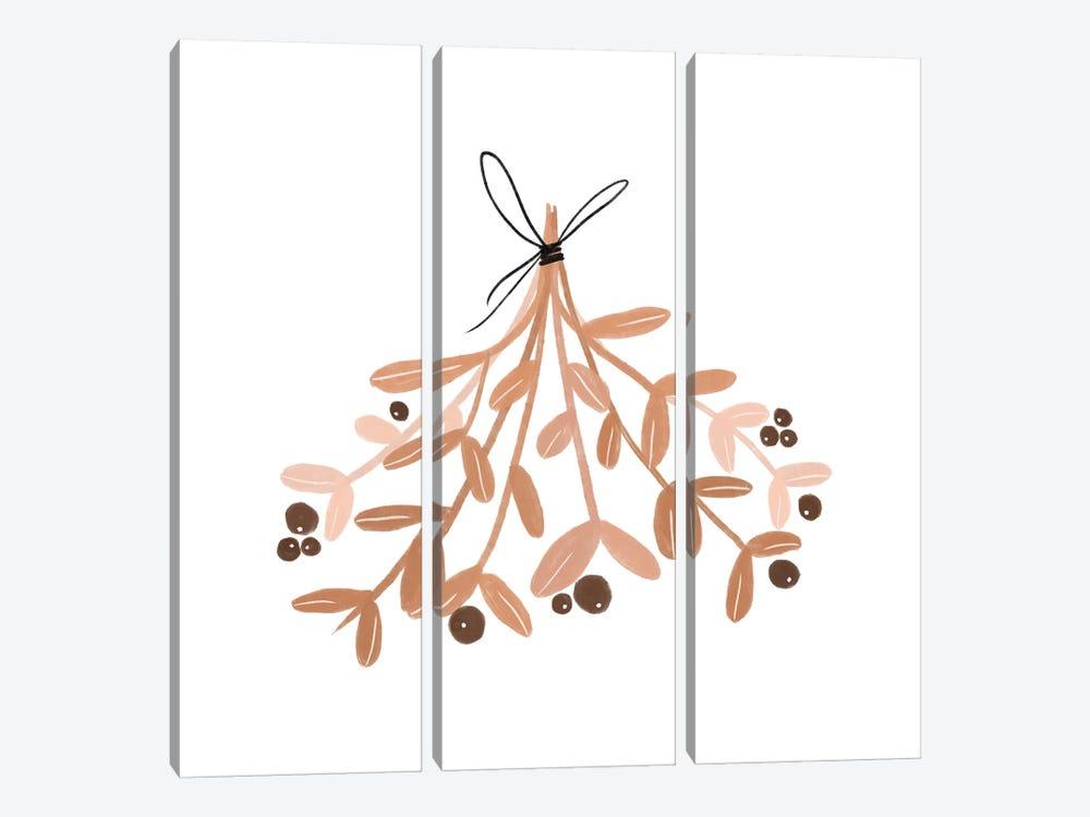 Mistletoe by Orara Studio 3-piece Canvas Art Print