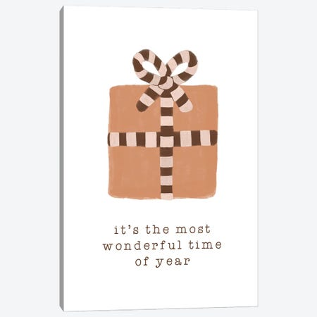 Most Wonderful Time Of Year Canvas Print #ORA371} by Orara Studio Art Print
