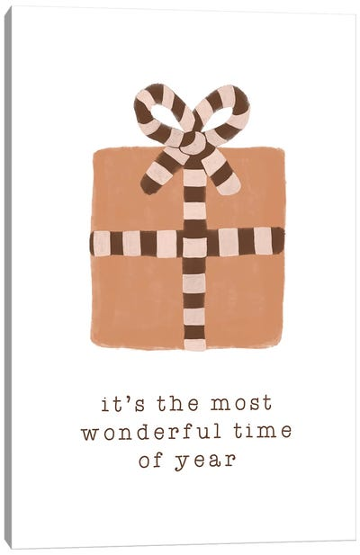 Most Wonderful Time Of Year Canvas Art Print