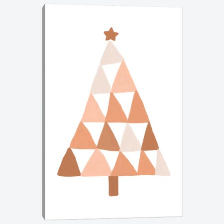 Pastel Christmas Tree Canvas Print #ORA373} by Orara Studio Canvas Print