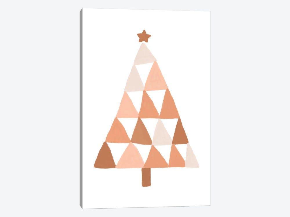 Pastel Christmas Tree by Orara Studio 1-piece Canvas Artwork