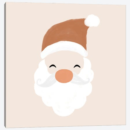 Santa Canvas Print #ORA376} by Orara Studio Canvas Art