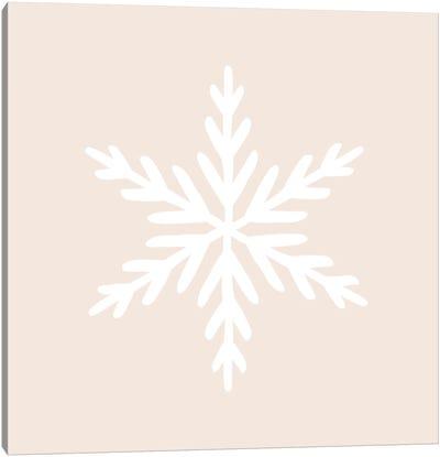 Snowflake Canvas Art Print