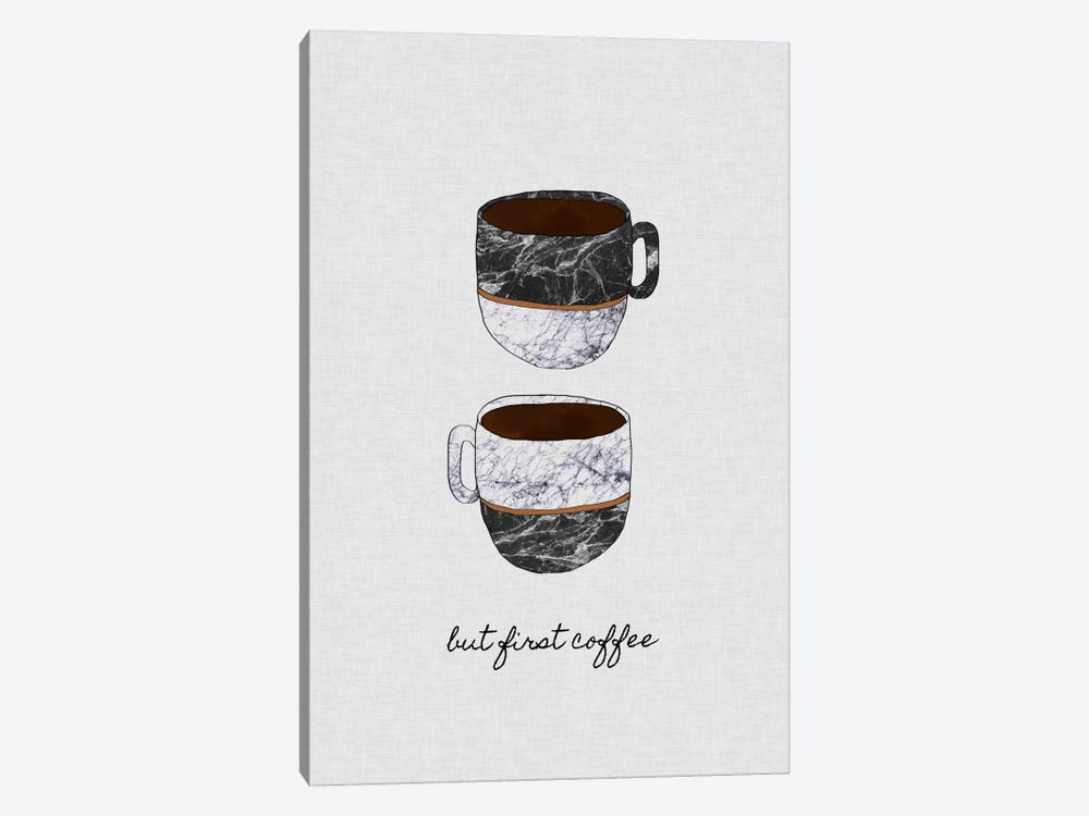But First Coffee by Orara Studio 1-piece Art Print
