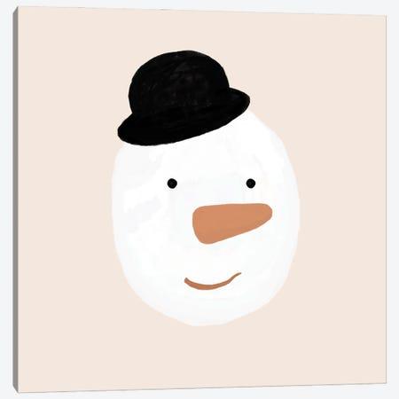 Snowman Canvas Print #ORA380} by Orara Studio Canvas Artwork