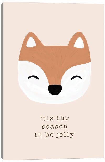 Tis The Season To Be Jolly Canvas Art Print