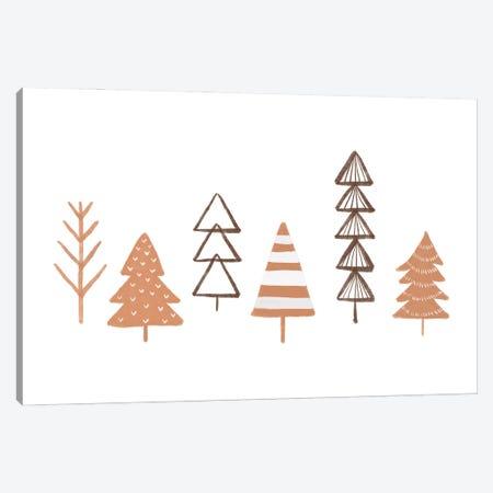 Winter Trees Illustration Canvas Print #ORA385} by Orara Studio Canvas Art Print