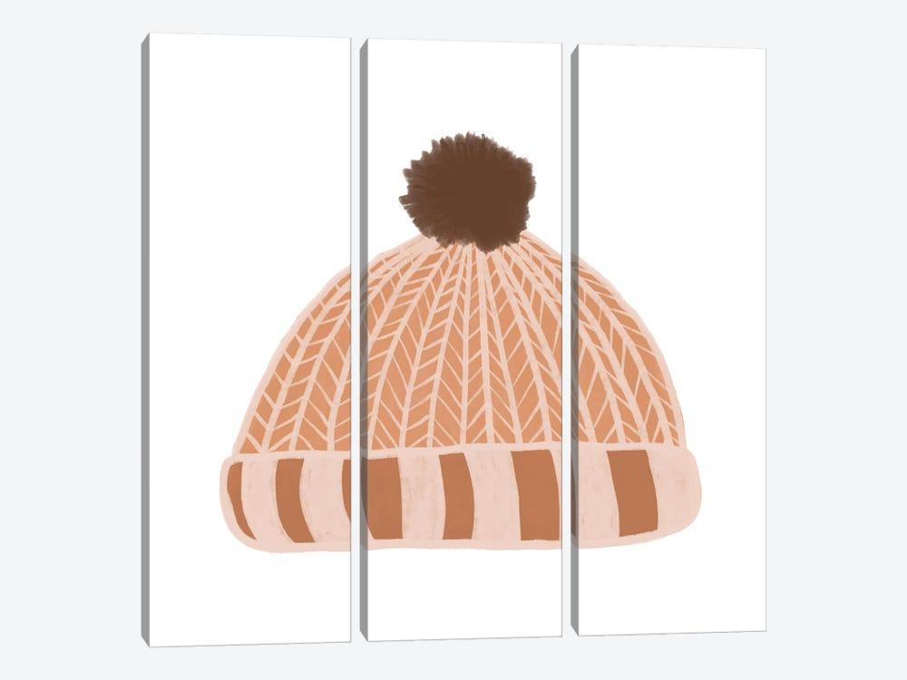 Wooly Hat by Orara Studio 3-piece Canvas Artwork