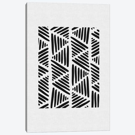 B&W Abstract I Canvas Print #ORA3} by Orara Studio Canvas Artwork