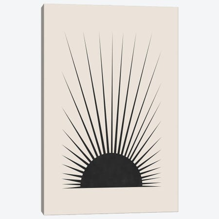 Minimal Sun Canvas Print #ORA407} by Orara Studio Canvas Art