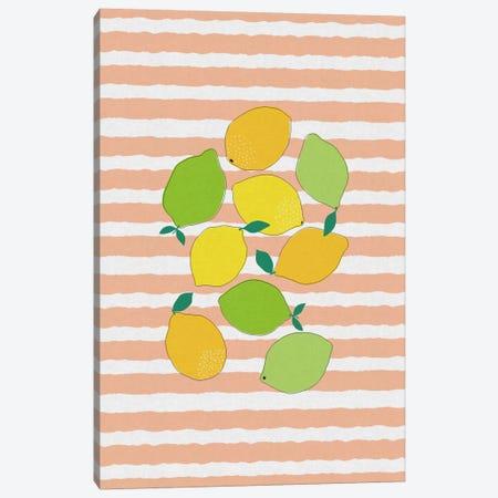 Citrus Crowd Canvas Print #ORA47} by Orara Studio Canvas Wall Art