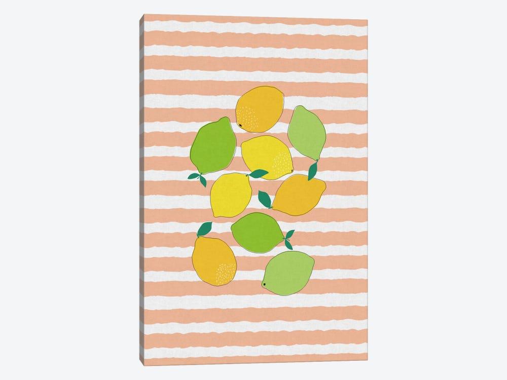 Citrus Crowd by Orara Studio 1-piece Canvas Wall Art