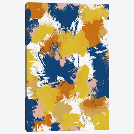 Colourful Abstract Canvas Print #ORA49} by Orara Studio Canvas Art Print