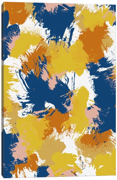Colourful Abstract Canvas Art Print