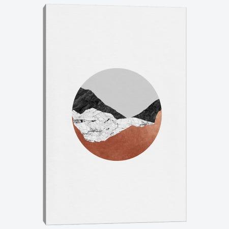 Copper Geometric III Canvas Print #ORA53} by Orara Studio Canvas Art