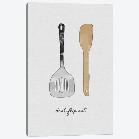 Don't Flip Out Canvas Print #ORA57} by Orara Studio Canvas Print
