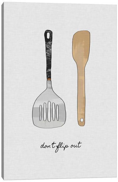Don't Flip Out Canvas Art Print