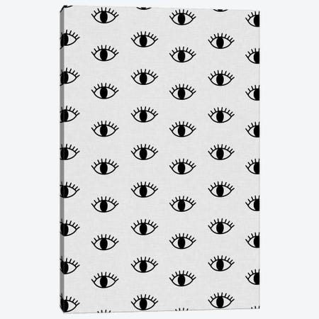 Eyes Open Canvas Print #ORA64} by Orara Studio Canvas Wall Art