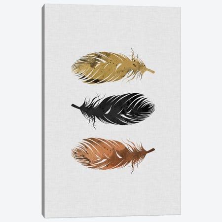 Feathers Canvas Print #ORA67} by Orara Studio Canvas Artwork