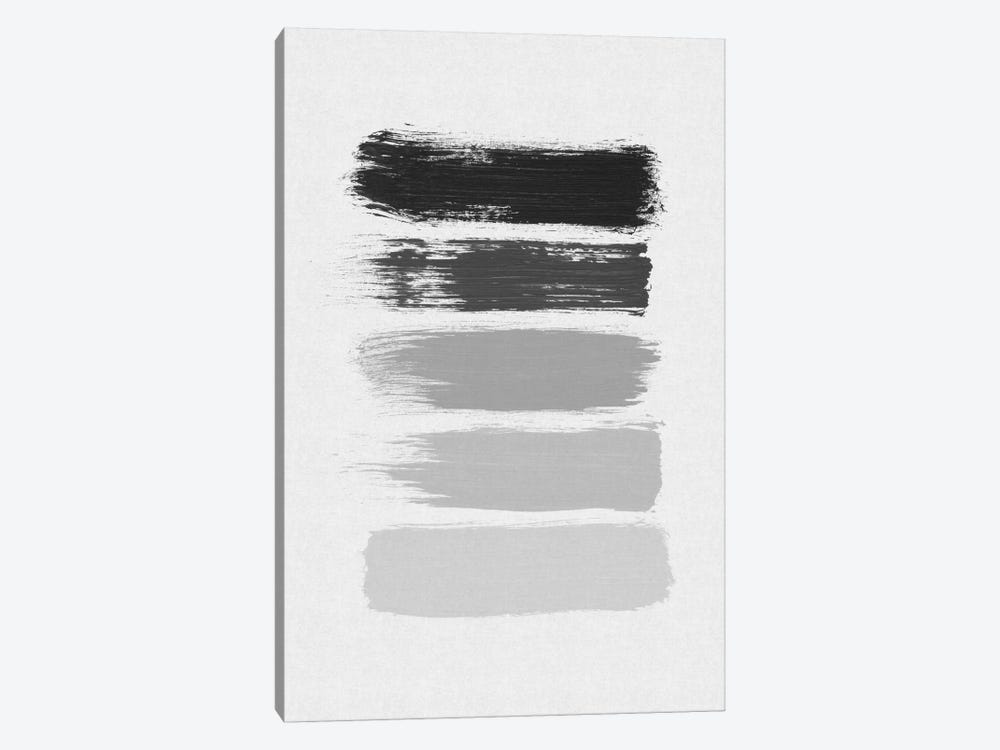 B&W Stripes by Orara Studio 1-piece Art Print