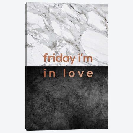 Friday I'm In Love Copper Canvas Print #ORA73} by Orara Studio Canvas Art