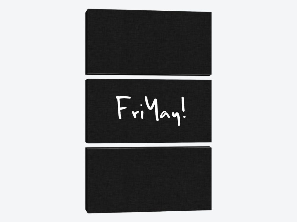 Friyay! by Orara Studio 3-piece Canvas Artwork