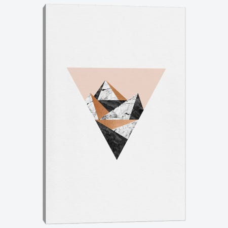 Geo Landscape Triangle Canvas Print #ORA77} by Orara Studio Canvas Print