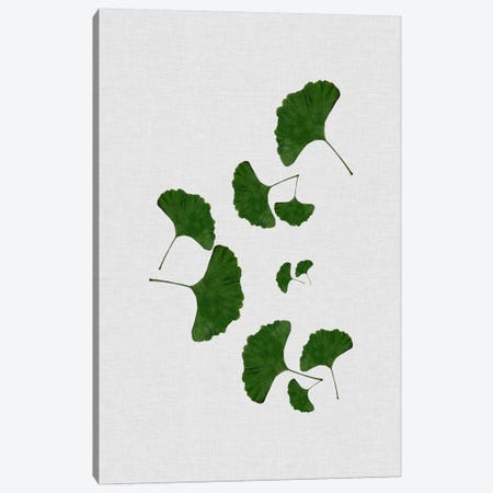 Ginkgo Leaf I Canvas Print #ORA78} by Orara Studio Canvas Artwork