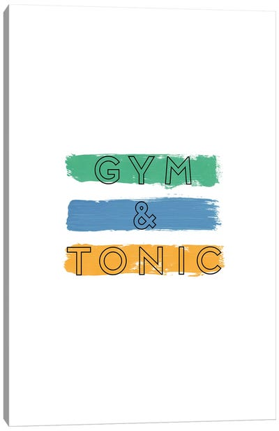 Gym & Tonic Canvas Art Print