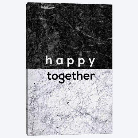 Happy Together B&W Canvas Print #ORA96} by Orara Studio Canvas Print