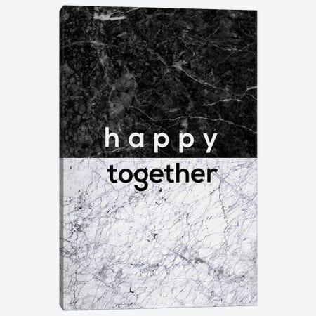 Happy Together B&W Canvas Print #ORA96} by Orara Studio Canvas Print