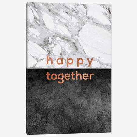 Happy Together Copper Canvas Print #ORA97} by Orara Studio Art Print