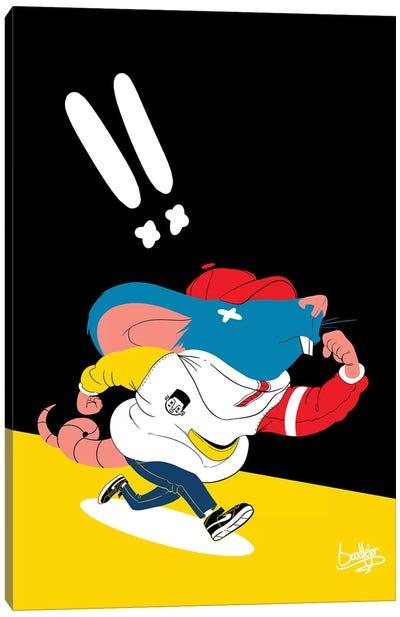 Ricky Rat Canvas Art Print