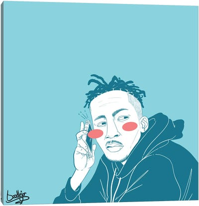 Sum'n Slight Canvas Art Print
