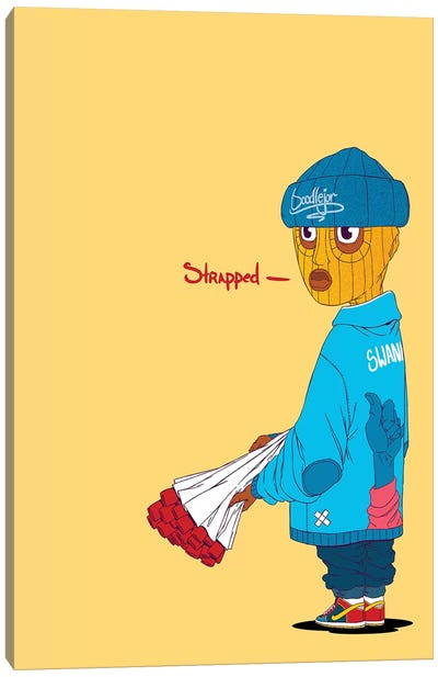 Thug Canvas Art Print