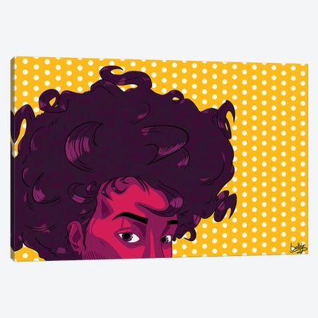 Butter Mami Canvas Print #ORD5} by Jordan Best Canvas Wall Art