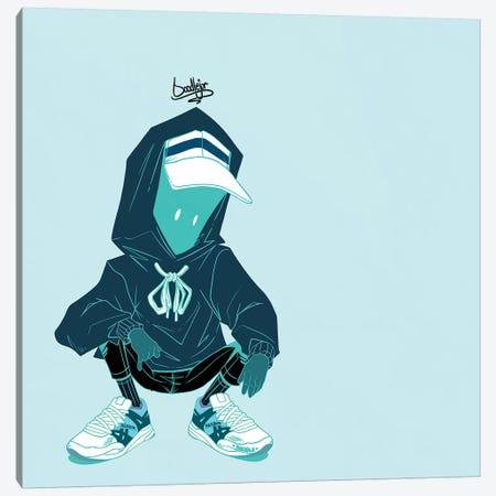 Chill Blu Canvas Print #ORD6} by Jordan Best Canvas Artwork