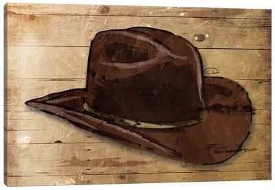 Sketched Hat Canvas Art Print