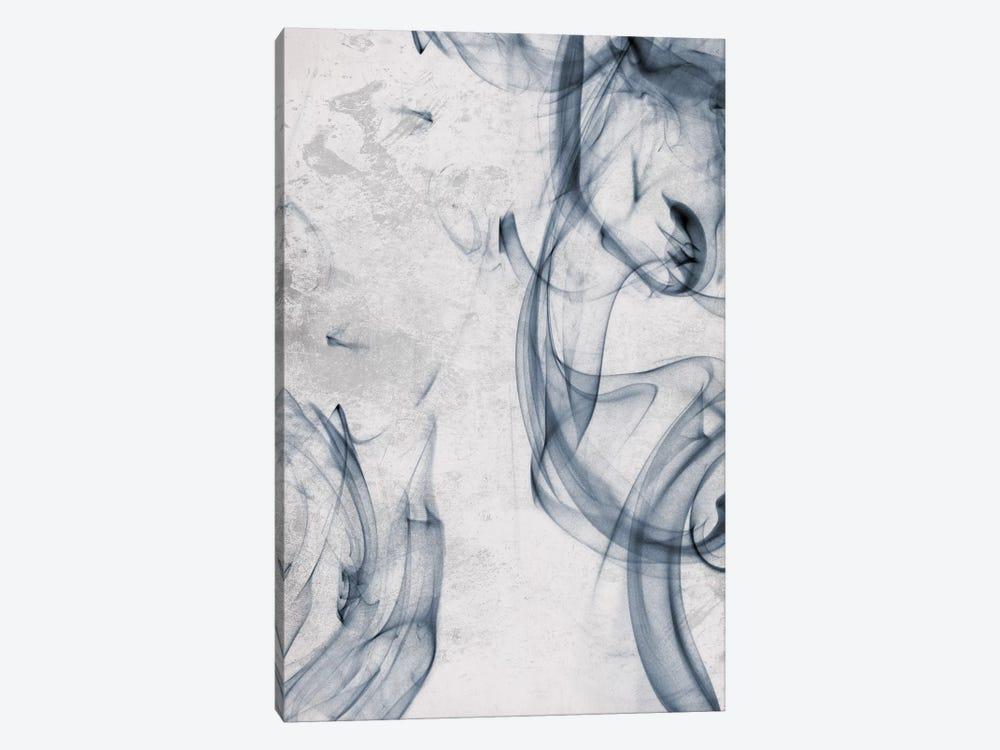 Blue Smoke by On Rei 1-piece Canvas Artwork