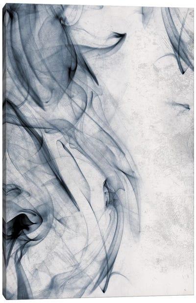 Smoke Blue Canvas Art Print