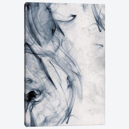 Smoke Blue Canvas Print #ORE27} by On Rei Canvas Artwork
