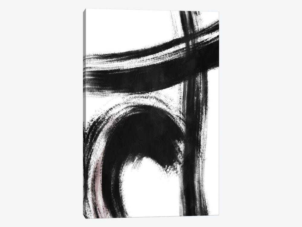 Strokes I by On Rei 1-piece Canvas Art Print