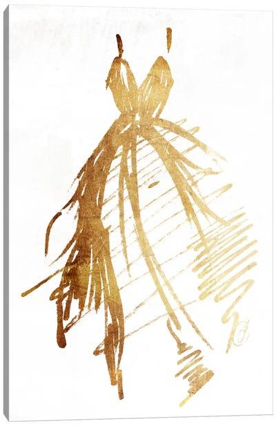 Runway Dress Canvas Art Print