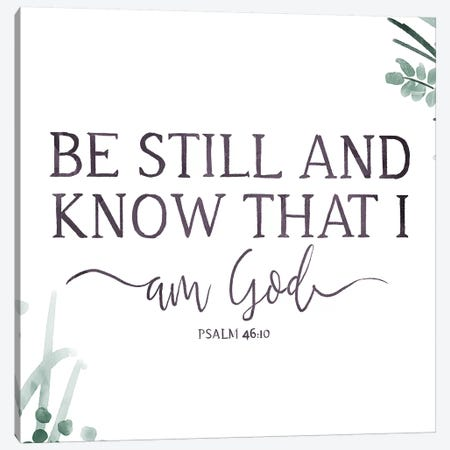 Am God Canvas Print #ORE33} by On Rei Canvas Wall Art