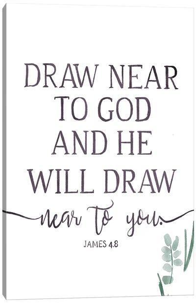 Will Draw Canvas Art Print