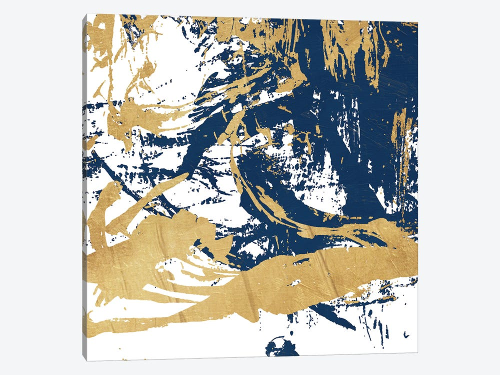 Free Form Blue by On Rei 1-piece Canvas Print
