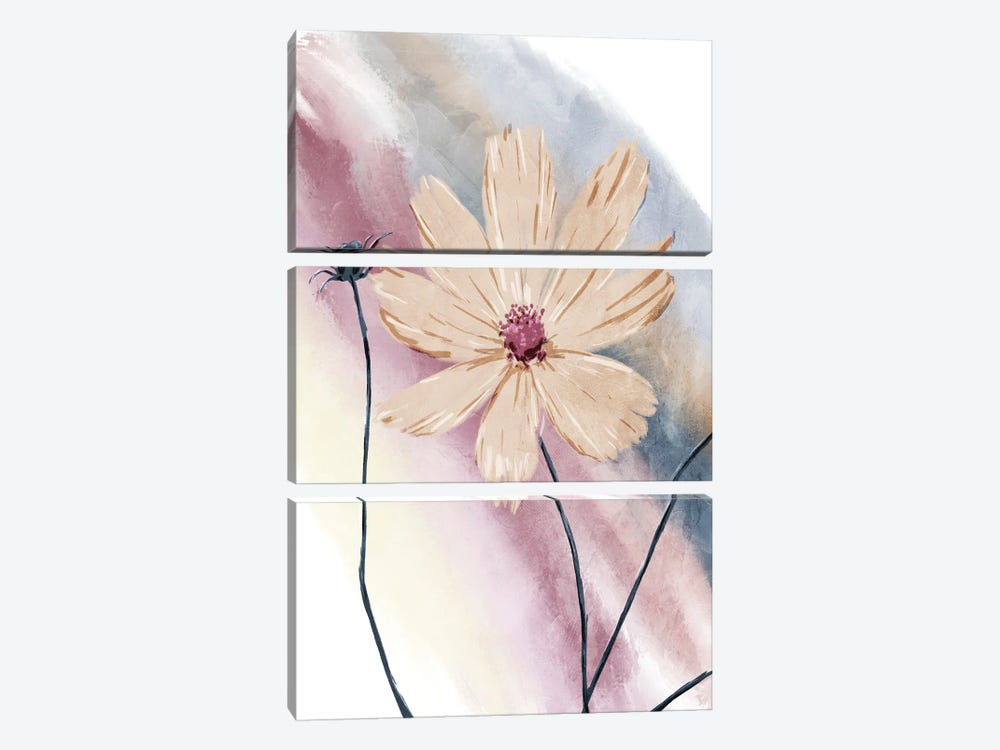 Mood Plants Mate by On Rei 3-piece Canvas Art Print